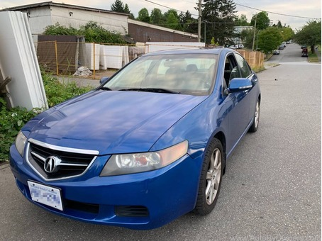 Back on market 2005 Acura TSX Blue City Sky