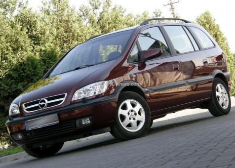 Opel ZAFIRA Comfort KLIMA 1.8
